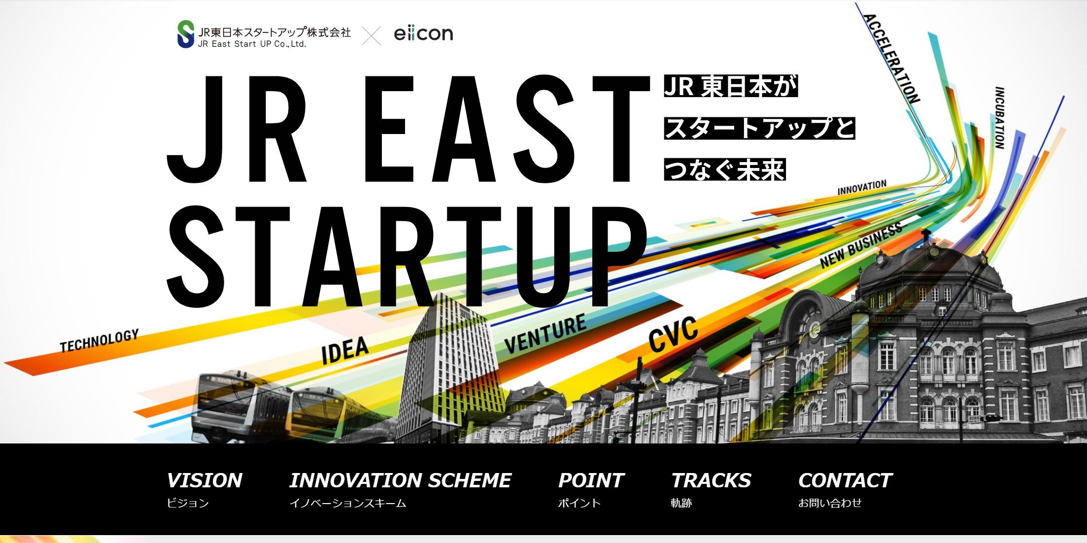 eiicon × JR東日本スタートアップ