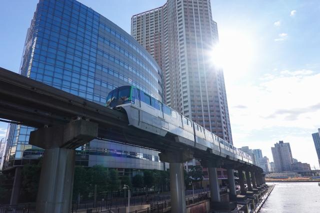 東京モノレールに乗って「手ぶら観光」!