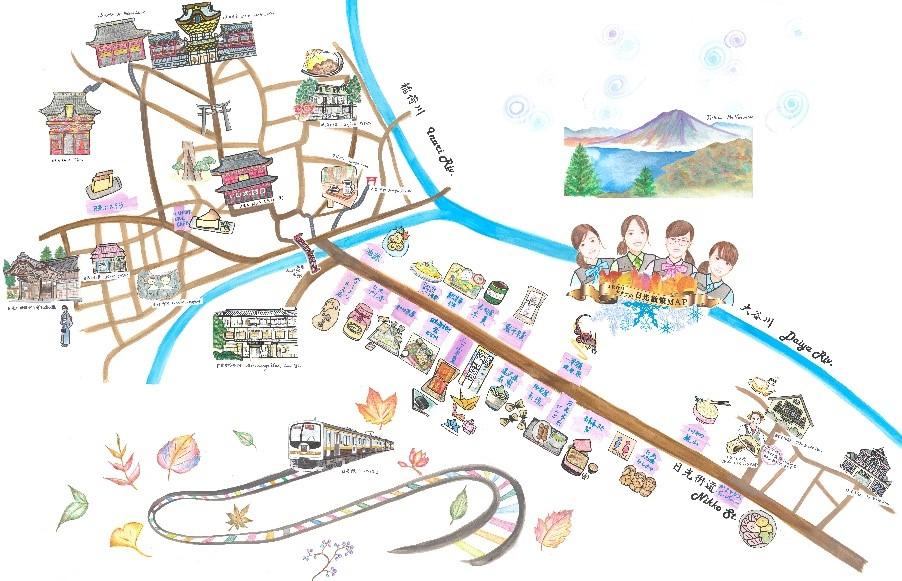 「JR車掌×ベンチャー」出発進行!オンラインマップ片手に日光散策